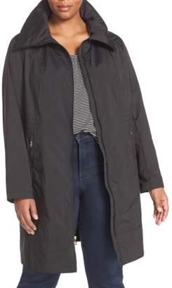Cole Haan Water-Resistant Packable Hooded Anorak