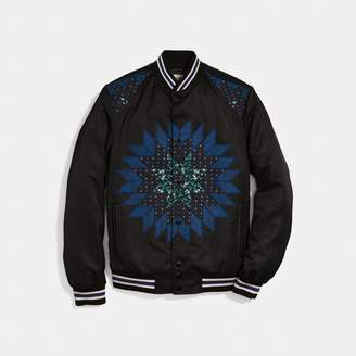 Coach Patchwork Varsity Jacket