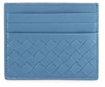 Bottega Veneta Bottega Veneta Woven Leather Card Case