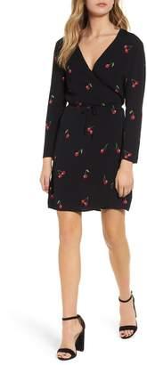 Rails Lola Cherry Print Wrap Dress
