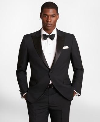 Brooks Brothers BrooksGate Regent-Fit Wool Tuxedo Jacket