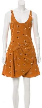 Emporio Armani Sleeveless Printed Dress