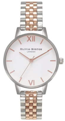 Olivia Burton Midi Round Bracelet Watch, 30mm