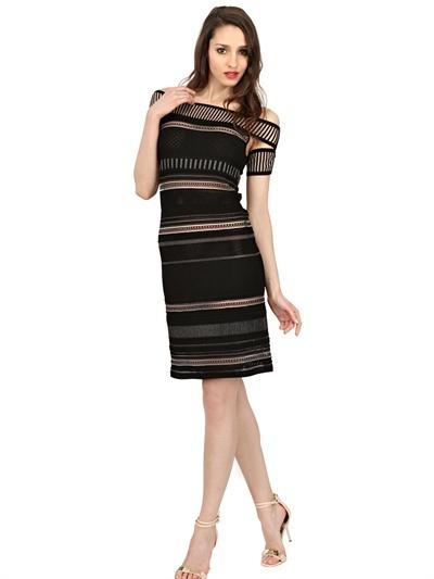 Vicedomini Punto Milano Rayon Knit Dress