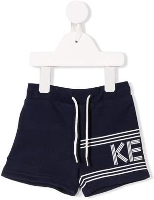 Kenzo drawstring logo shorts