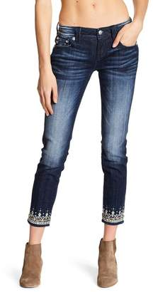 Miss Me Embellished Ankle Skinny Jeans