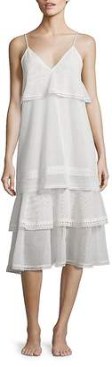 Jonathan Simkhai Women's Cotton Voile Slip Dress