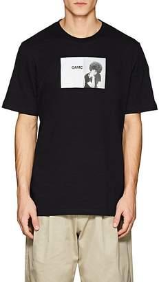 Oamc Men's Cotton Short-Sleeve T-Shirt