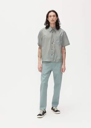 Deveaux Translucent Taffeta Elasticated Resort Shirt
