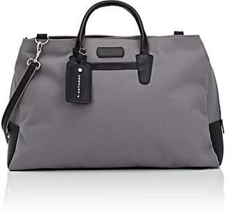 Anthony Logistics For Men T. Men's Canvas & Leather Weekender Bag - Gray