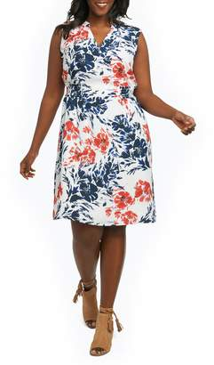 Foxcroft Jane Floral Sheath Dress