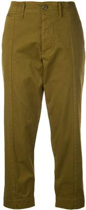Alex Mill straight cropped trousers