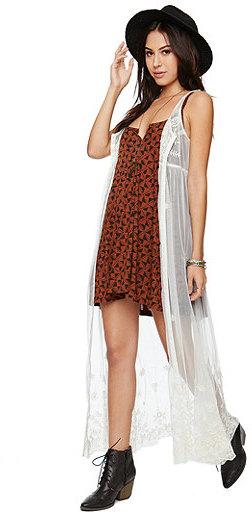 Billabong Vivid Nights Sheer Dress