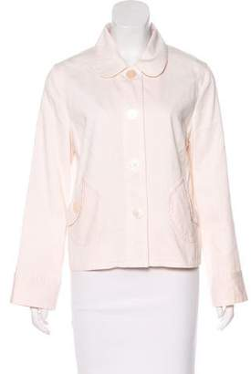 Marc Jacobs Chambray Long Sleeve Jacket