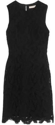 Emilio Pucci Cotton-Blend Guipure Lace Mini Dress
