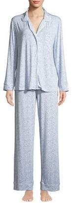 Eberjey Fleur De Vie Long Pajama Set