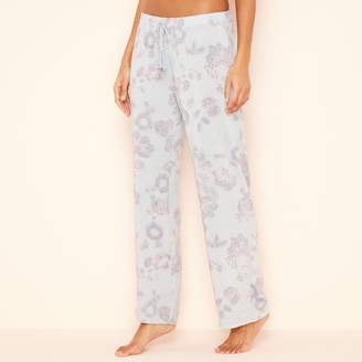 Lounge & Sleep - Blue Paisley Print 'Wanderer' Pyjama Bottoms