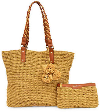 Tommy Bahama Straw Tote $118 thestylecure.com