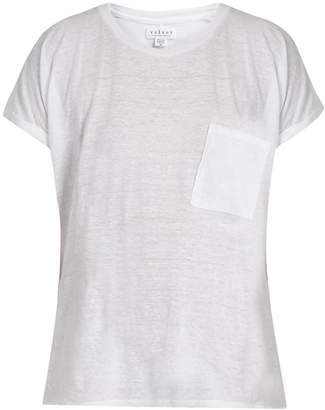 Velvet by Graham & Spencer Denice patch-pocket T-shirt