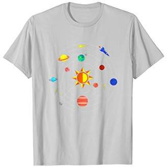 Outer Space Galaxy Planets T-Shirt