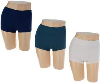 Anybody AnyBody Seamless Wide Waist Boyshort Panties Set of Three