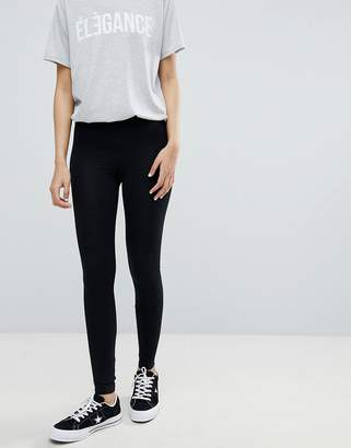 Miss Selfridge leggings in black