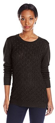 Dockers Women's Cable-Front Pullover Sweater $32.55 thestylecure.com