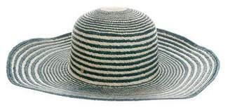 Inverni Striped Straw Hat