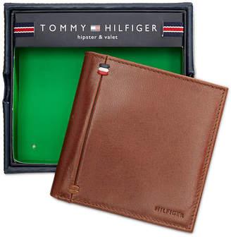 Tommy Hilfiger Men's Leather Palmer Hipster Wallet