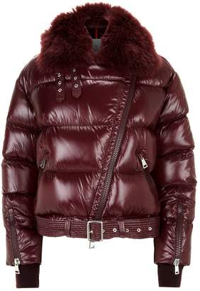 Moncler Foulque Quilted Bomber Jacket