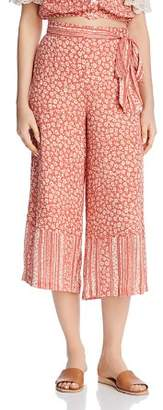 Lost and Wander Lost + Wander Suns Out Printed Wide-Leg Pants