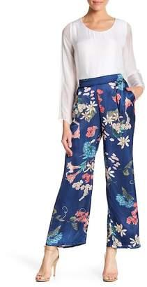 Luma Floral Print Wide Leg Pants