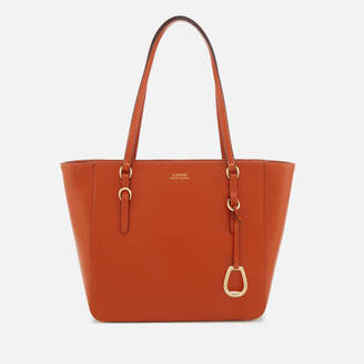 At Mybag Lauren Ralph Women S Bennington Medium Per Bag Burnt Orange