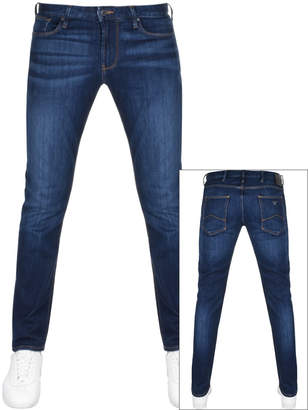 Emporio J06 Slim Fit Jeans Blue