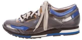 Lanvin Iridescent Low-Top Sneakers
