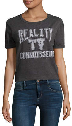 Fifth Sun Reality TV Cropped Tee - Junior