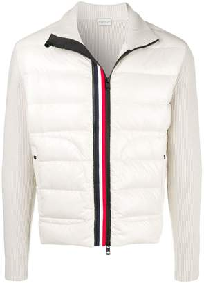 Moncler padded front cardigan