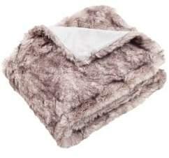 Safavieh Faux Chinchilla Fur Throw