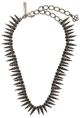 Oscar de la Renta sea urchin crystal necklace