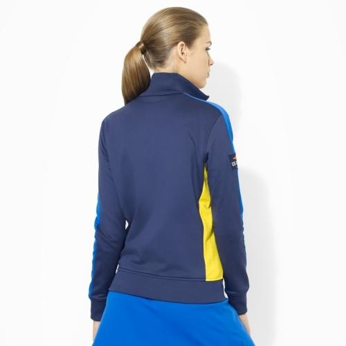 Ralph Lauren Full-Zip Mesh-Paneled Jacket