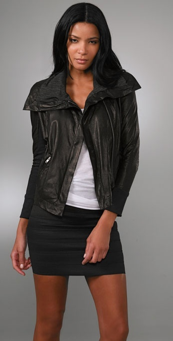 A.l.c. Limited Edition Leather Motorcycle Jacket