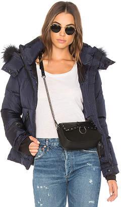 SAM. Jetset Jacket with Raccoon Fur