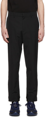 Prada Black Techno Trousers