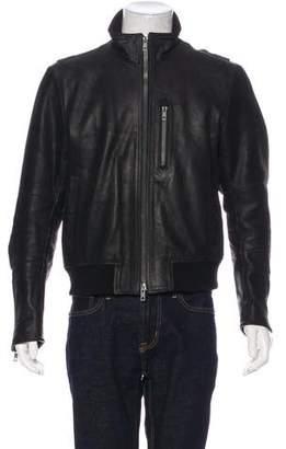 Rag & Bone Leather Pilot Jacket