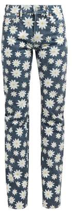 Holiday Boileau Daisy Print High Rise Jeans - Womens - Navy Multi