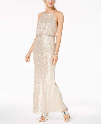 9d8e3980060 Adrianna Papell Beige Evening Dresses - ShopStyle