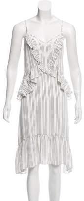 Rebecca Minkoff Striped Sleeveless Dress