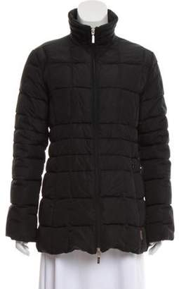 Moncler Vintage Down Coat Black Vintage Down Coat