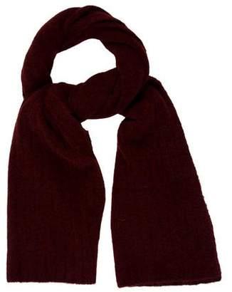 LK Bennett Burgundy Knit Scarf