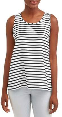 3741b2a9620c2 Time and Tru Women s Essential Woven Tank Top